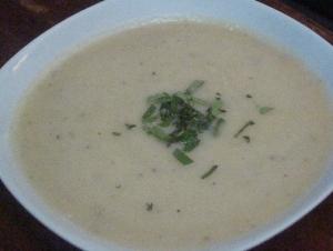 מרק לבן קרמי
