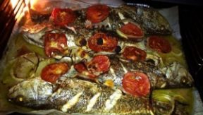 דג מוסר ים - מתכון של אמא אהובה