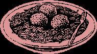 תבשיל כדורי בשר הודו וירקות