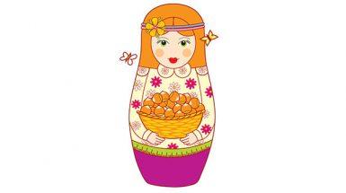 בבושקה עם אגוזים