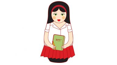 בבושקה עם ספר
