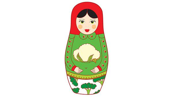בבושקה עם אורז