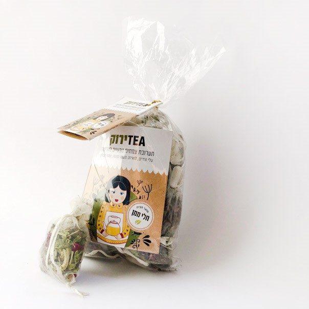 חליטת צמחים- תה ירוק