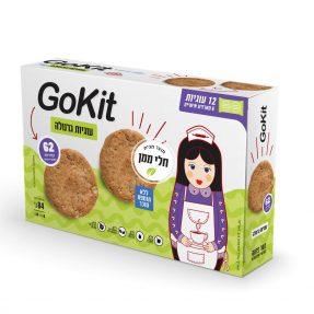 עוגיות גרנולה GOKIT