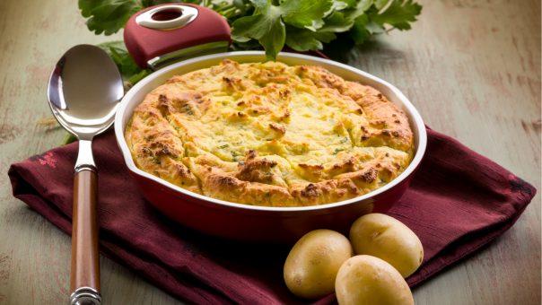 פשטידת תפוחי אדמה כשרה לפסח