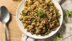 אורז עם שעועית מש