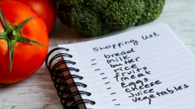 רשימת קניות חיונית להצלחה בדיאטה חלי ממן