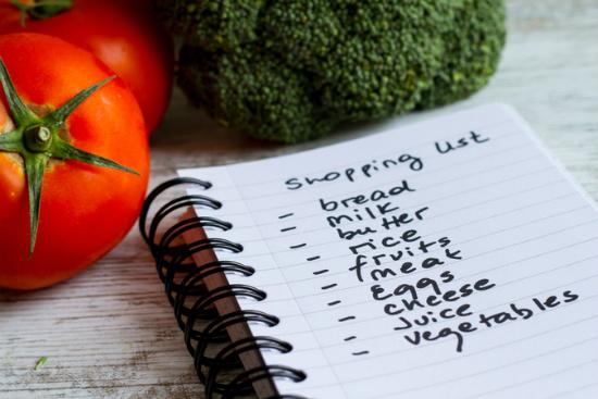 רשימת קניות לדיאטה חלי ממן